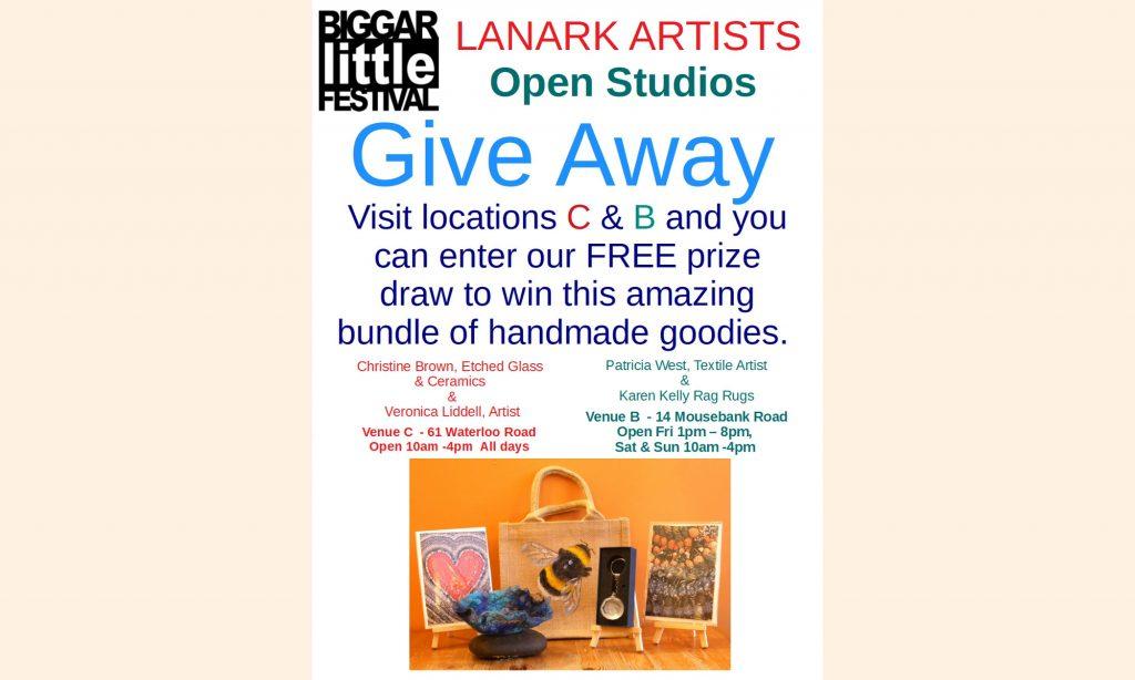 Lanark Artist Giveaway Poster 2019